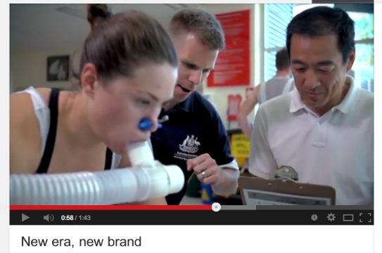 Eric and I featured in the new AIS branding video. L-R: me, Eric and Hamilton Lee.