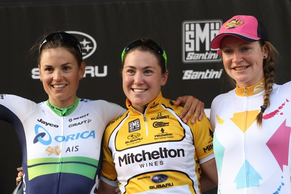 The final podium.